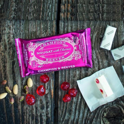 Nougat with Italian Cherries Snack Pack