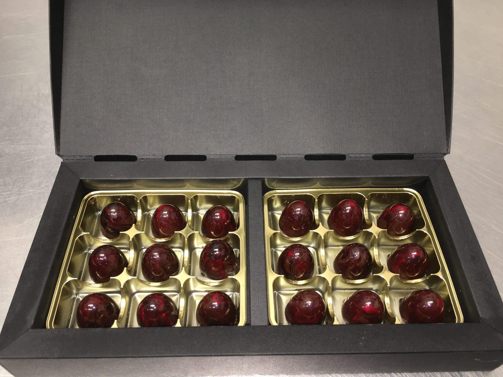 Raspberry Infusion Chcolates